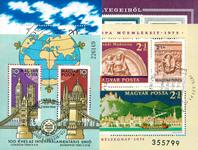 Hongrie - Lot de doublons 11 blocs-feuillets obl.