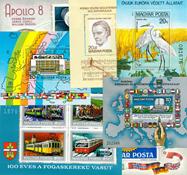 Ungarn - Postfriske miniark ca. 15 stk.