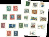 Vesttyskland - Stemplet samling 1949-1984
