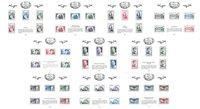 France - Trésors de la Philatélie 2017 - Série de 10 timbres neufs