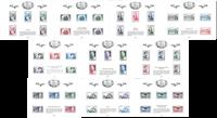 Frankrig - Filateliens skatkammer - Postfrisk sæt à 10 specialminiark