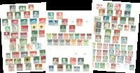 Vesttyskland - Samling 1949-95 stemplet