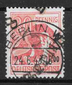 DDR 1948 - AFA 14a - leimattu