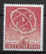 Berliini 1950 - AFA 71 - Postituore