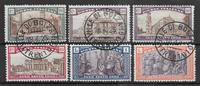 Italia 1924 - AFA 179-184 - leimattu