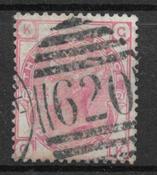 Englanti 1862 - AFA 18 - leimattu