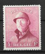 Belgia 1919 - AFA 156 - Käyttämätön liimakkeella