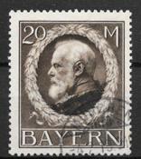 Bavaria 1914 - AFA 110 - leimattu