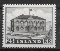 Islanti 1952 - AFA 278 - Postituore