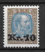 Islanti 1926 - AFA 122 - Postituore