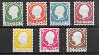 Islanti 1912 - AFA 69-75 - Postituore