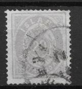 Islanti 1875 - AFA 10a - leimattu