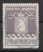 Grönlanti 1930 - Pakp. AFA 10 - leimattu
