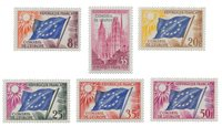 France - Timbres service YT TS16-21 - Neuf