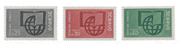 France - Timbres service YT TS36-38 - Neuf