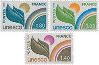 France - Timbres service YT TS50-52 - Neuf