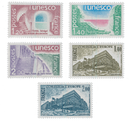 France - Timbres service YT TS60-64 - Neuf
