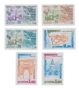France - Timbres service YT TS65-70 - Neuf