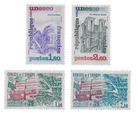 France - Timbres service YT TS71-74 - Neuf
