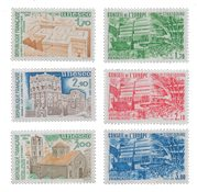 France - Timbres service YT TS79-84 - Neuf