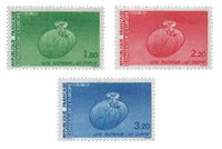 France - Timbres service YT TS85-87 - Neuf