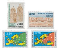 France - Timbres service YT TS102-105 - Neuf