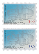 France - Timbres service YT TS116-117 - Neuf