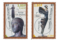France - Timbres service YT TS120-121 - Neuf