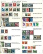 Liechtenstein - Samling 1912-79