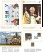 Pave Benedikt XVI - Samling i 3 tykke indstiksbøger