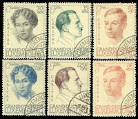 Luxembourg 1939 - Oblitéré - Michel 333-38