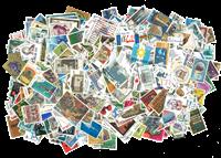 Israel - 750 forskellige postfrisk og stemplet