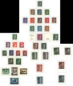 Østrig - Postfrisk samling 1945-73