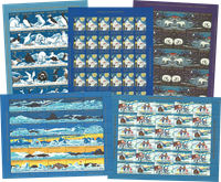 Groenland - Vignettes de Noël - 1979-2014