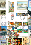 France - Lot de doublons cartes maximum