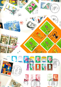 France - Duplicate lot first day covers