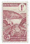 France - Colis postaux YT 216B - Oblitéré
