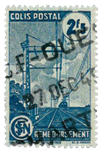 France - Colis postaux YT 218A - Oblitéré