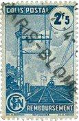 France - Colis postaux YT 218B - Oblitéré