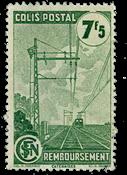 France - Colis postaux YT 219A - Oblitéré