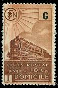 France - Colis postaux YT 221A - Neuf avec charnières