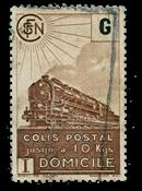France - Colis postaux YT 221B - Oblitéré