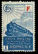 France - Colis postaux YT 201 - Oblitéré