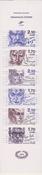 Frankrig berømte personer hæfte postfrisk