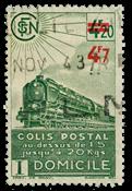 France - Colis postaux YT 206 - Oblitéré