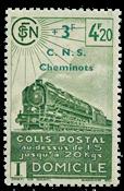 France - Colis postaux YT 193 - Neuf sans charnières