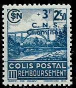 Frankrig - Pakkeporto YT 196 - Postfrisk