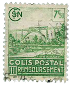 France - Colis postaux YT 180 - Oblitéré