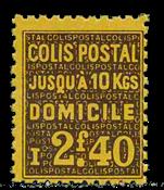 Frankrig - Pakkeporto YT 165 - Postfrisk