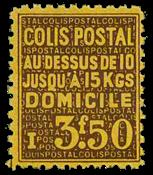 France - Colis postaux YT 166 - Neuf sans charnières